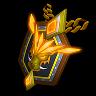 Dire Wolfguard-Pack Emblem (Amulet)