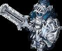 Titanium swordbreaker