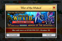 War of the wicked