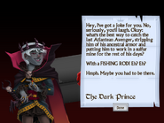 Eleventh Letter from the Dark Prince