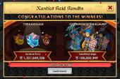 Winners of the Xantico Raid for iOS