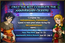 Decanniversary 2020-Quests