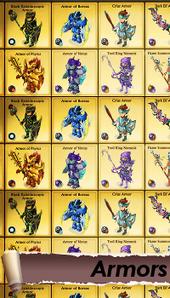 Wiki armors