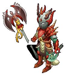 Half-Dragon Warriors Armor
