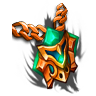 Blinding Shako-Amulet