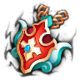Enkindled Joustmail-Chivalrous Crest (Amulet)