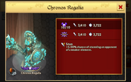 Chronos Regalia Ascension Max