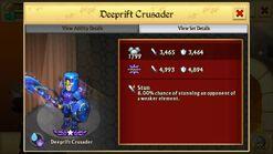 Deeprift Crusader-Stats