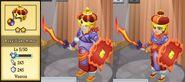 Royal Flame Armor Evolution 1