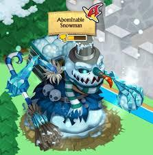 Adominable snowman