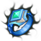 Typhoon Stormstaff-Emerald Rimering (Ring)