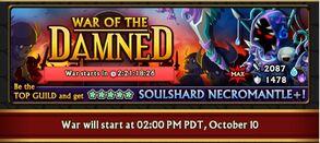 Soulshard Necromantle Banner for iOS