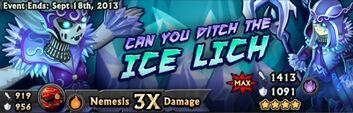 Ice Lich Banner