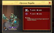 Chronos Regalia 99 Lv