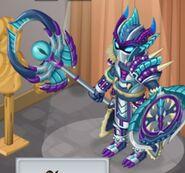 Demon's Carapace Male evo 3 close