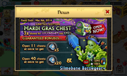 Mardi Gras Chest