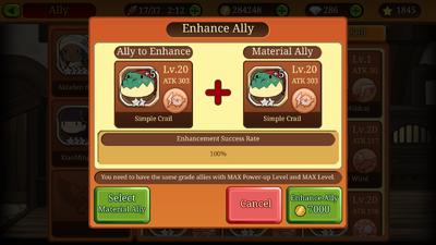 Enhance Ally Splash
