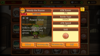 2s Wendy the Hunter FM Info