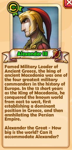 Alexander III Text