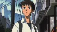 Shinji waiting for Misato (Rebuild) 01
