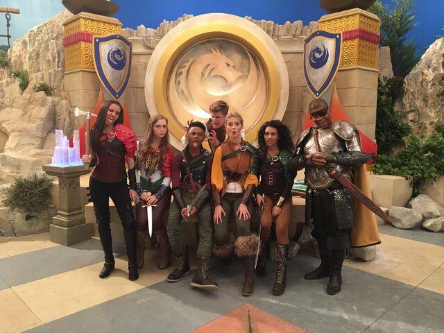 File:Knight Squad cast on set.jpg