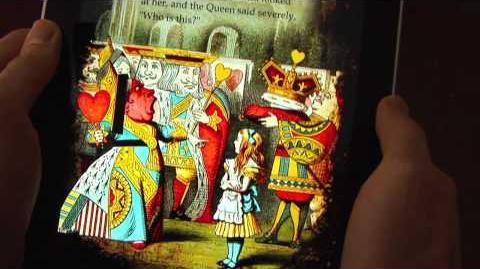 Электронная книжка Алиса в стране чудес