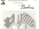 Patons Canadiana Mitts for the Family by Beehive