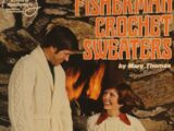 American School of Needlework 6 Fisherman Crochet Sweater