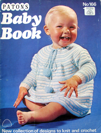 Patons Beehive No 166 Baby Book Knitting And Crochet Pattern