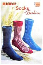 Patons 113 Socks by Beehive book