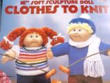Leisure Arts 368 Clothes to Knit for Soft Sculpture Doll