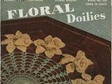 Clarks 258 Vintage 1940s FLORAL DOILIES to Crochet