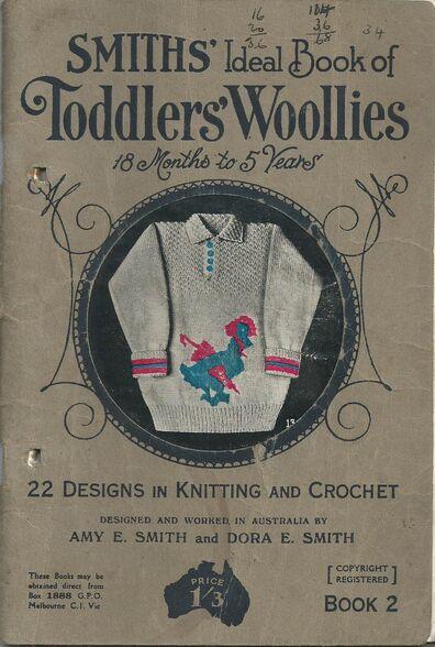 Smiths toddlers woollies bk 2