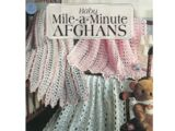 Leisure Arts 2430 Baby Mile A Minute Afghans