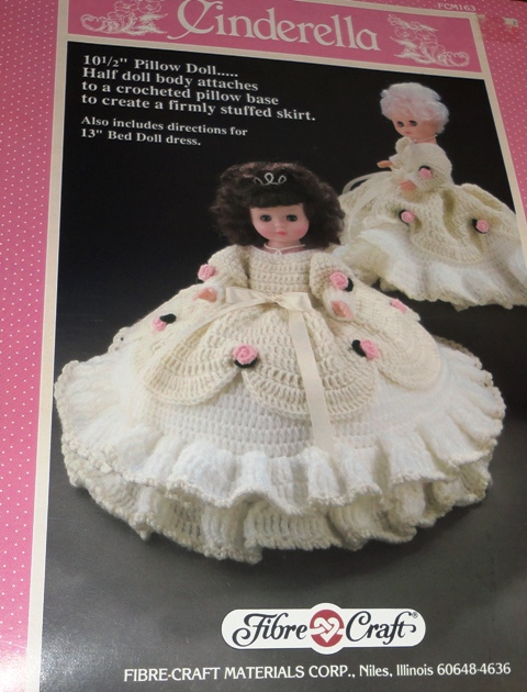 Fibre Craft Fcm163 Cinderella Knitting And Crochet Pattern Archive