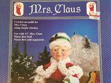 Fibre Craft FCM311 Mrs. Claus