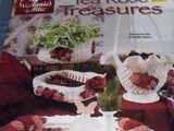Annie's Attic 871416 Crochet Tea Rose Treasures