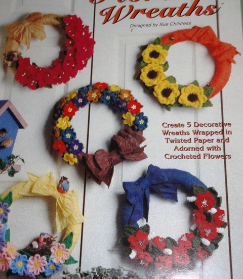 The Needlecraft Shop 941326 Floral Wreaths Knitting And Crochet