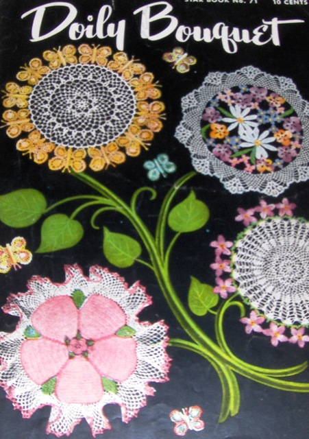 American Thread Co. Star Book 71 Doily Bouquet   Knitting and ...
