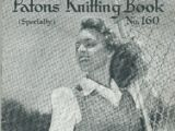 Patons Knitting Book No.160