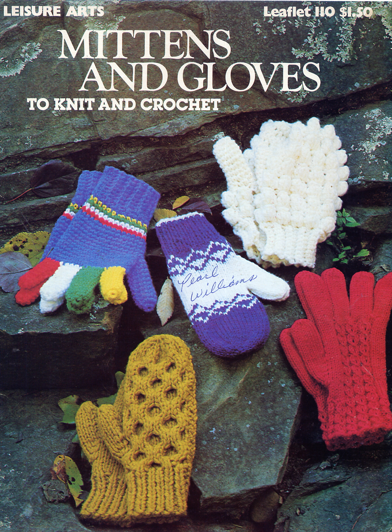 Leisure Arts 110 Mittens and Gloves to Knit and Crochet | Knitting ...