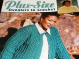 Leisure Arts 3530 Plus Size Sweaters to Crochet