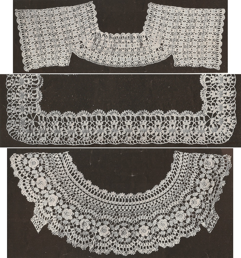 Sophie T. LaCroix Book No. 9 Old and New Designs in Crochet Corset ...