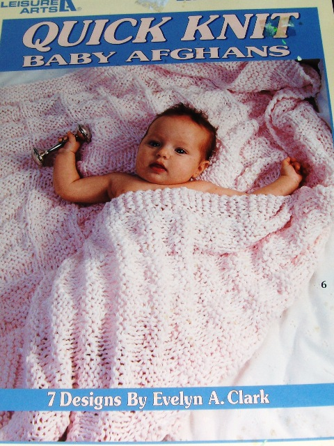 Leisure Arts 2894 Quick Knit Baby Afghans Knitting And Crochet
