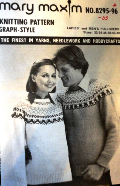 Mary Maxim Ski Sweater