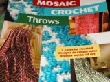 Annie's Attic 875565 Mosaic Crochet Throws