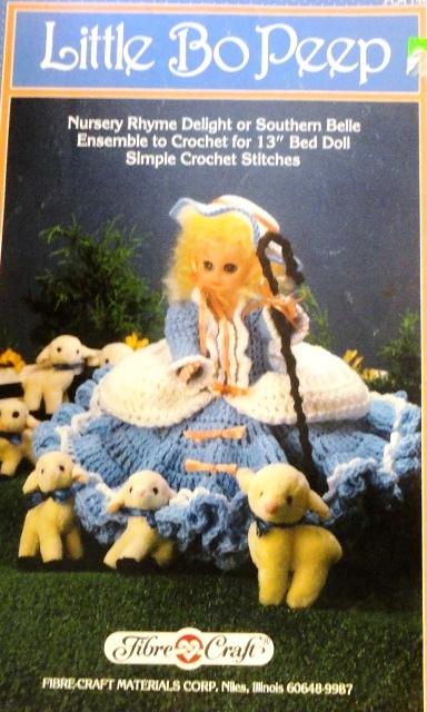 Fibre Craft Fcm 174 Little Bo Peep Knitting And Crochet Pattern