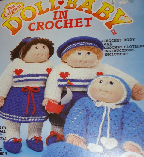 Fibre Craft Fcm102 The Original Doll Baby In Crochet Knitting And