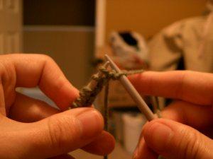 English Method Knit Step 4