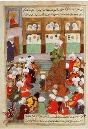 Predavanje šejha Baha'aludina Veleda u Balkhu